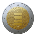 2 euro commémorative Andorre 2017 BU - Hymne national