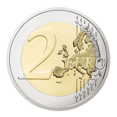 2 euro commémorative Autriche 2018 - République d'Autriche Revers