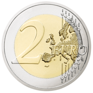 2 euro commemorative coin Austria 2018 - 100th anniversary of the Austrian Republic Reverse (zoom)
