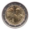 (EUR11.200.2017.COM2.spl.000000001) 2 euro commémorative Luxembourg 2017 - Guillaume III Avers