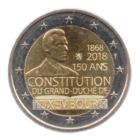 (EUR11.200.2018.COM1.spl.000000001) 2 euro commémorative Luxembourg 2018 - Constitution du Luxembourg Avers