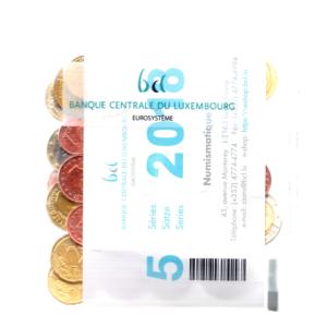 (EUR11.bag.2018.1) Sachet de banque 1 cent à 2 euro commémorative Luxembourg 2018 Verso (zoom)