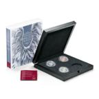 Ecrin collector Monnaie d'Autriche - Anges gardiens (avec les 3 premières monnaies)