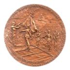 (FMED.Méd.MdP.1982.CuSn1.spl.000000001) Médaille bronze - Fête nationale du 14 juillet Avers