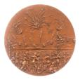 (FMED.Méd.MdP.1982.CuSn1.spl.000000001) Médaille bronze - Fête nationale du 14 juillet Revers