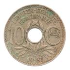 (FMO.010.1937.7.24.ttb.000000001) 10 centimes Lindauer 1937 Revers