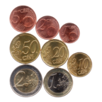 (LOT.EUR11.001to200.2018.0.spl.000000001) Série 1 cent à 2 euro Luxembourg 2018 Revers