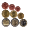 (LOT.EUR11.001to200.2018.1.spl.000000001) Série 1 cent à 2 euro commémorative Luxembourg 2018 Avers