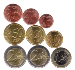 (LOT.EUR11.001to200.2018.1.spl.000000001) Series 1 cent to 2 euro commemorative coin Luxembourg 2018 Reverses (zoom)