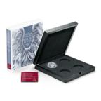 (MATMünzeÖ.Cofméd&écr.Ecr.22653) Ecrin collector Monnaie d'Autriche - Anges gardiens