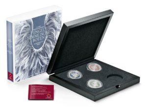 (MATMünzeÖ.Cofméd&écr.Ecr.22653) Ecrin collector Monnaie d'Autriche - Anges gardiens (zoom)