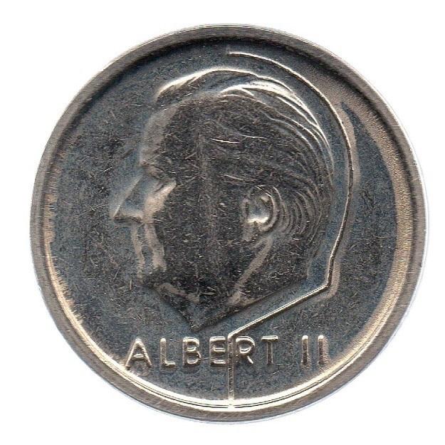 (W023.100.1994.1.1.sup.000000001) 1 Franc King Albert II 1994 – Flemish legend Obverse (zoom)