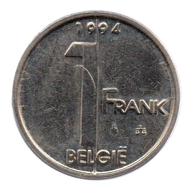 (W023.100.1994.1.1.sup.000000001) 1 Franc King Albert II 1994 – Flemish legend Reverse (zoom)