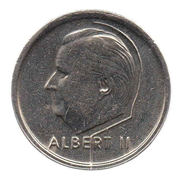 (W023.100.1995.1.1.sup.000000001) 1 Franc King Albert II 1995 – Flemish legend Obverse (zoom)