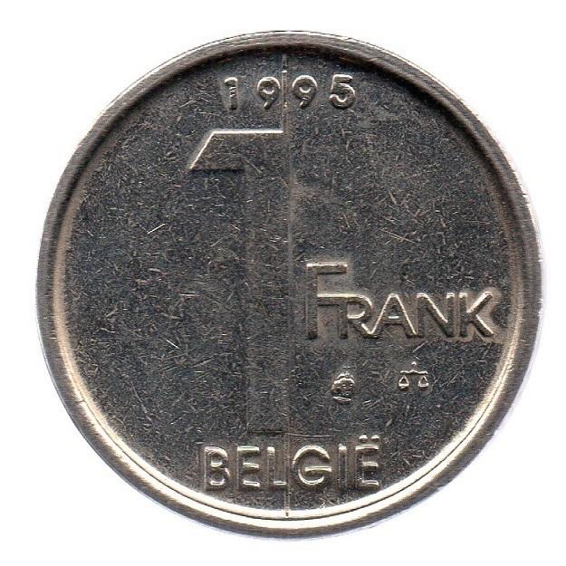 (W023.100.1995.1.1.ttb.000000001) 1 Franc King Albert II 1995 – Flemish legend Reverse (zoom)