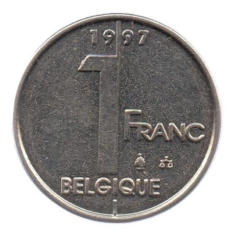 (W023.100.1997.1.ttb.000000001) 1 Franc Albert II 1997 Revers