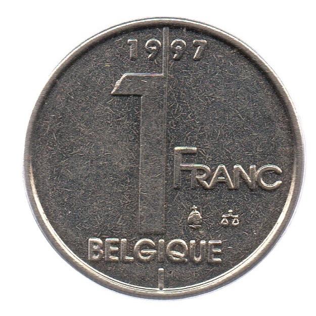 (W023.100.1997.1.ttb.000000001) 1 Franc King Albert II 1997 Reverse (zoom)