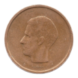 (W023.2000.1981.1.1.ttb.000000001) 20 Francs Baudouin 1981 - Légende flamande Avers