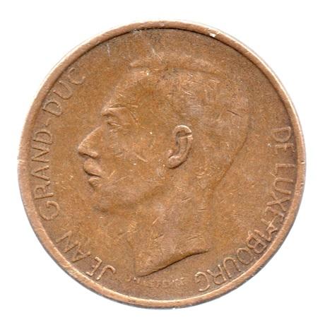 (W135.2000.1981.1.tb+[]ttb.000000001) 20 Francs Grand-Duc Jean de Luxembourg 1981 Avers