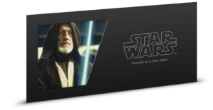 1 dollar Niue 2018 5 grams Brilliant Uncirculated silver - Obi-Wan Kenobi (single sleeve) (additional picture) (zoom)