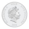 5 dollars Niue 2018 2 onces argent BE - Yoda Avers