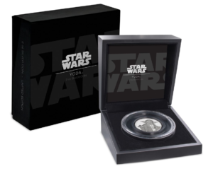 5 dollars Niue 2018 2 oz Proof fine silver - Master Yoda (box and case) (zoom)