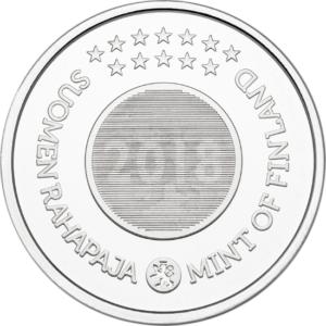 BU coin set Finland 2018 (medal) (Obverse) (zoom)