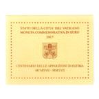 (EUR19.ComBU&BE.2017.200.BU.COM2.000000002) 2 euro commémorative Vatican 2017 BU - Fátima (coffret fermé)