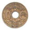 (FMO.010.1928.7.15.tb.000000001) 10 centimes Lindauer 1928 Revers