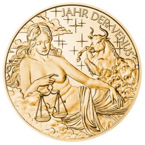 (MED01.Méd.MünzeÖ.2018.CuSn2) Bronze medal - Calendar 2018 Obverse (zoom)
