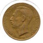 (W135.500.1986.1.1.ttb.000000001) 5 Francs Grand-Duc Jean de Luxembourg 1986 (listel étroit) Avers