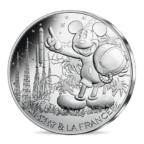 10 euro France 2018 argent - Mickey fait le compte à rebours Avers