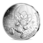 10 euro France 2018 argent - Mickey libre comme l'air Avers