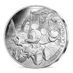 10 euro France 2018 argent - Mickey pique-nique Avers