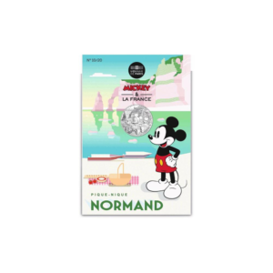 10 euro France 2018 argent - Mickey pique-nique (packaging) (zoom)