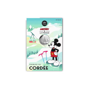 10 euro France 2018 argent - Mickey premier de cordée (packaging) (zoom)