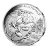 10 euro France 2018 argent - Mickey surfe Avers