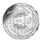 10 euro France 2018 argent - Mickey surfe Revers