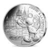 10 euro France 2018 argent - Mickey visite les châteaux de la Loire Avers