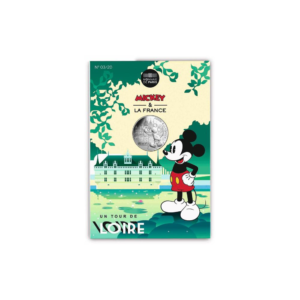 10 euro France 2018 argent - Mickey visite les châteaux de la Loire (packaging) (zoom)