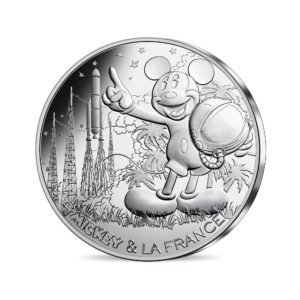 10 euro France 2018 silver - Mickey and the countdown Obverse (zoom)