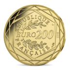 200 euro France 2018 or BU - La France Revers