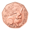 5 euro Autriche 2018 - Lapin de Pâques Revers