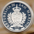 (EUR18.ComBU&BE.2013.500.BE.COM1.000000001) 5 euro Saint-Marin 2013 argent BE - Kennedy Avers
