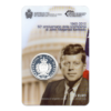 (EUR18.ComBU&BE.2013.500.BE.COM1.000000001) 5 euro Saint-Marin 2013 argent BE - Kennedy (plaquette) (Recto)
