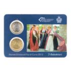 (EUR18.MK.2013.1.000000002) Mini-kit 50 cent et 1 euro Saint-Marin 2013 BU - Arbalétriers Recto