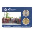 (EUR18.MK.2013.1.000000002) Mini-kit 50 cent et 1 euro Saint-Marin 2013 BU - Arbalétriers Verso