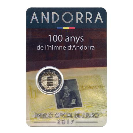 (EUR24.ComBU&BE.2017.200.BU.COM1.000000002) 2 euro commémorative Andorre 2017 BU - Hymne national Recto