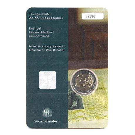 (EUR24.ComBU&BE.2017.200.BU.COM1.000000002) 2 euro commémorative Andorre 2017 BU - Hymne national Verso
