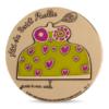 (FMED.Méd.MdP.n.d._2017_.CuZn1) Médaille bronze florentin - Nanas-maisons, par Niki de Saint Phalle Avers